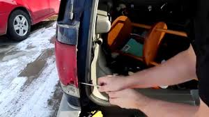 How to Remove and Replace Tail Light Assembly Chevrolet Blazer ...