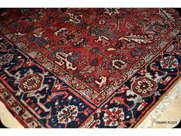 security 8x10 persian rug antique heriz circa 1930 s genuine handmade hand knotted