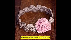 Stretchy Crochet Headband Pattern