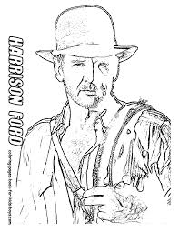 Small Picture Online for Kid Indiana Jones Coloring Pages To Print 45 With