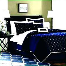white and blue comforter set navy king size queen dark sets