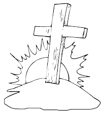 Cross Pictures To Color Cross Coloring Pages Download Free Printable