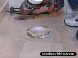 replacing broken pvc toilet part