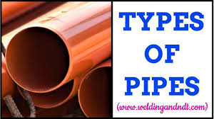 Types Of Pipes English Types Of Pipes Classification Of Pipes