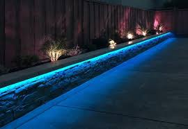 contemporary landscape lighting. rgb led strip landscaping lights contemporary-landscape contemporary landscape lighting t