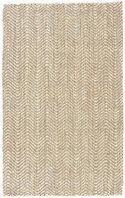 chevron jute rug nuloom natural and white chevron jute rug