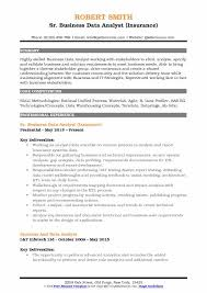Data Analyst Resume Sample Best Of Business Data Analyst Resume Samples QwikResume