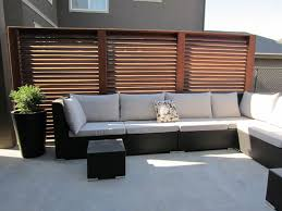 outdoor privacy panels slatted privacy screen panels traditional patio calgary