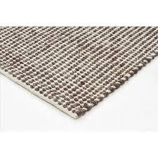 rugs carlos felted wool rug brown natural 320x230cm