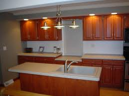 69 types unique classic kitchen refacing track lighting mixed with wooden cabinet ideas and stainless single handle faucet on white sink winnipeg used