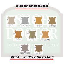 Tarrago Dye Color Chart Tarrago Metallic Shoe Dye