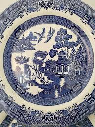 Blue Willow Pattern Custom Decoration