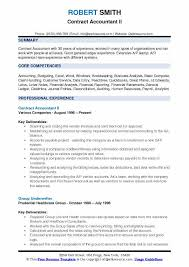 Budget Accountant Sample Resume Enchanting Contract Accountant Resume Samples QwikResume