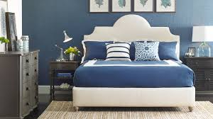 white coastal furniture. Full Size Of Bedroom, Glamorous Coastal Bedroom Furniture White Fabric Upholstered Platform Bed Blue Polyester