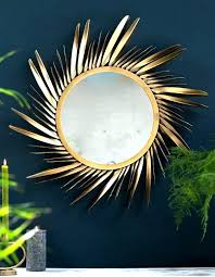 gold sunburst mirror. Large Gold Sunburst Mirror Burst Feathered Small