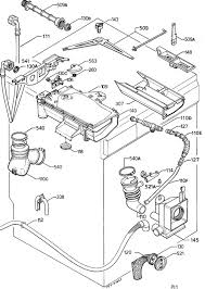 zanussi fj      washing machine hydraulic system    zanussi fj      washing machine hydraulic system spare  s diagram