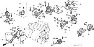 honda online store 1992 accord engine mount parts 1992 accord ex 5 door 5mt engine mount diagram