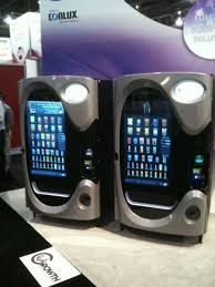 High Tech Food Vending Machines Extraordinary Touch Screen Coke Machine Only In America Digital Signage