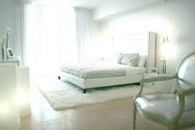 White Bedroom Rug Under Bed Small Room Fur Adorable Living Shag And ...