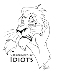 Lion King Coloring Pages Kovu At Getdrawingscom Free For Personal