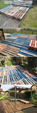 Floors Made From Pallets Patio Deck Out Of 25 Wooden Pallets O Pallet Ideas Pallet Patio