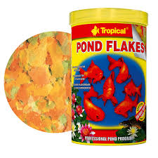 tropical pond koi goldfish pond flakes 5lt 800gr flake food for small pond loading zoom