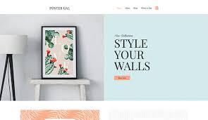 home decor website templates online store wix