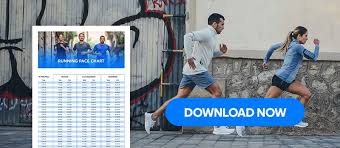 Half Marathon Race Pace Chart How To Find The Right Pace For Your Half Marathon