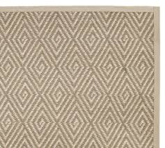 stark concepts custom diamond sisal rug platinum pottery barn pertaining to design 7
