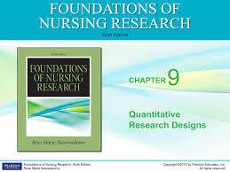 Experimental Design In Nursing Research 9 Foundations Of Nursing Research Quantitative