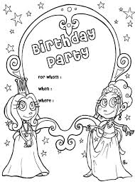 Small Picture Awesome Free Coloring Birthday Cards Pictures New Printable