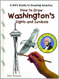 kid's Amazon Books Lynn Aileen Weintraub 9780823961047 Washington's To Guide Drawing Sights A Katt America Symbols And com Weintraub