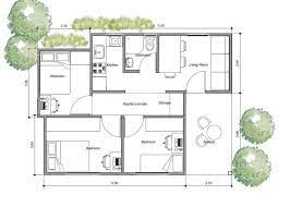 three bedroom shipping conner house