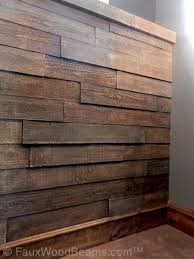 Affordable wood paneling perfect for wainscoting or full wall coverage.