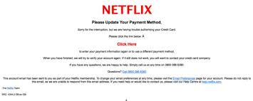 Email Scams Netflix Phishing Scam Can You Spot The Problems With This Fake