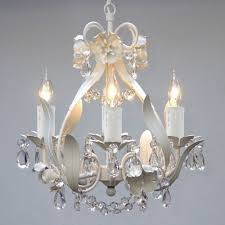 small white chandelier for nursery mini small white crystal chandelier bedroom baby nursery lighting fixtures decor