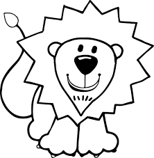 Small Picture Kids Lion Coloring Page Wecoloringpage