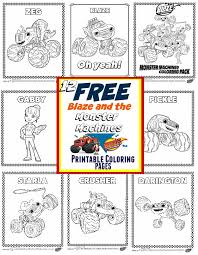 Small Picture Blaze and The Monster Machines Party Ideas FREE Printable