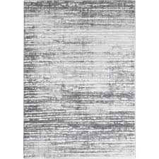 3d textured gray abstract striped rug