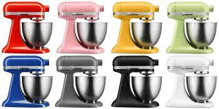 kitchenaid mixer colors. kitchenaid\u0027s new mini stand mixer targets millennials and baby boomers, because of course | huffpost kitchenaid colors i