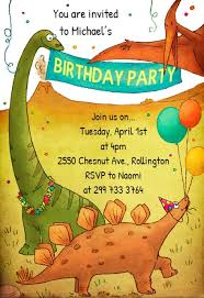Dinosaur Birthday Invitation Dinosaur Birthday Invitation Template Free Greetings Island