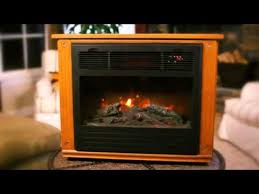 lifesmart infrared electric fireplace warms any room the home depot