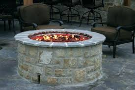 gas fire pit kit outdoor gas fireplace kits tall round elevated natural gas outdoor fireplace kit gas fire pit kit