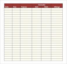 Mileage Spreadsheet For Taxes Unique Mileage Log Spreadsheet Awesome