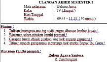 21 404 просмотра 21 тыс. Soal Uas Semester 1 Bahasa Jawa Kelas 6 Dan Kunci Jawaban Aneka Pendidikan