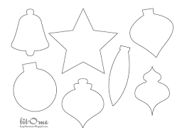 Felt Christmas Ornament Patterns Awesome Christmas Ornament Template Felt Christmas Tree Ornament Templates