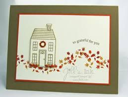 home made thanksgiving cards clean and simple thanksgiving card created with the holiday home