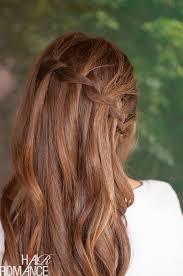 Hairstyle Waterfall vertical waterfall braid hairstyle tutorial hair romance 6513 by stevesalt.us