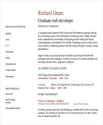 10+ Web Developer Resume Templates - Pdf, Doc | Free & Premium Templates