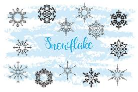 Your new design or pattern can be printed or downloaded in png, jpg, pdf, or svg (scalable. Free Illustrations Download Christmas Decor Snowflake Clipart Snowflake Silhouette Free Design Resources